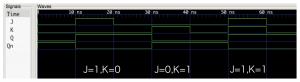 JK-FFの波形