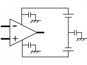 オペアンプの電源接続