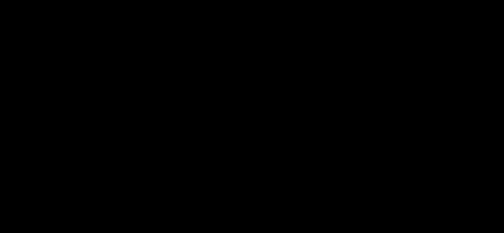 Dフリップフロップのタイミングチャート(立ち下がりエッジ)