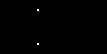 RSフリップフロップの内部構造とシンボル
